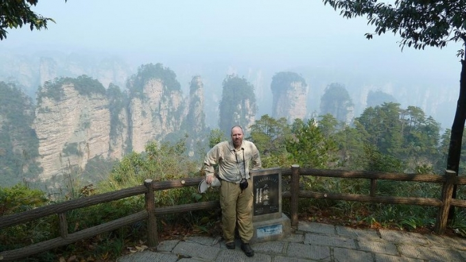 And the Zhangjiajie!!! Right next to the Yangtze River Dam journey