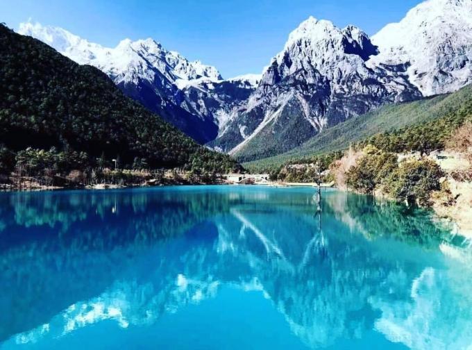 Hi,China climbing Yulong Snow Mountain in China banner
