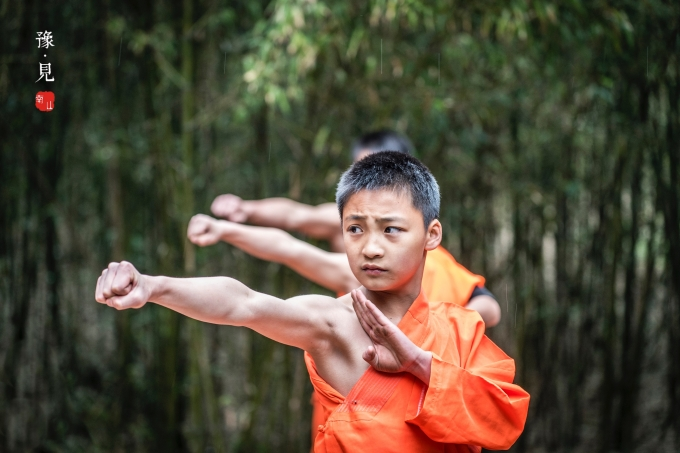 Once upon a time in Shaolin Temple