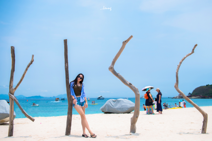 Hi,China Just try - Casual stroll with my wife in Sanya (Hannan Island) banner