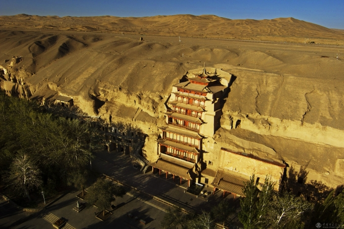 Is Mogao Caves just caves?