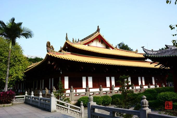 Guangxiao Temple in Guangzhou 光孝禅寺