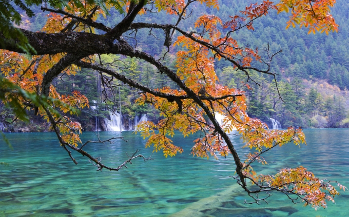 Jiuzhaigou in last autumn