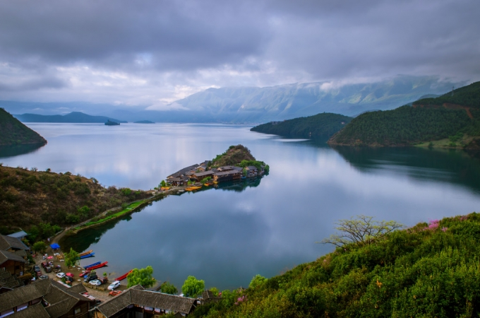 Unbelievable nature in the Lugu Lake