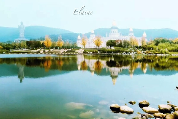 Hi,China Lingshan Buddhist mountain, Wuxi banner