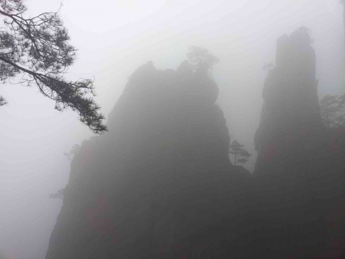 yellow mountain, Huangshan, hongcun village