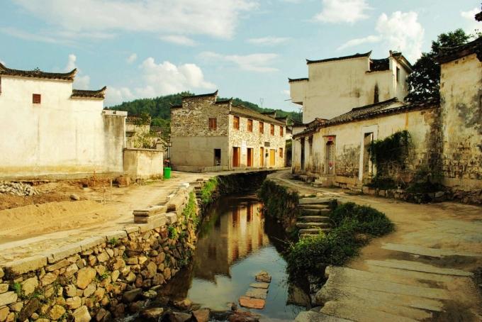 Hi,China Quiet Chaji ancient town banner