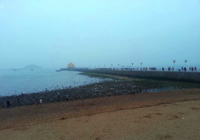 another time in Qingdao