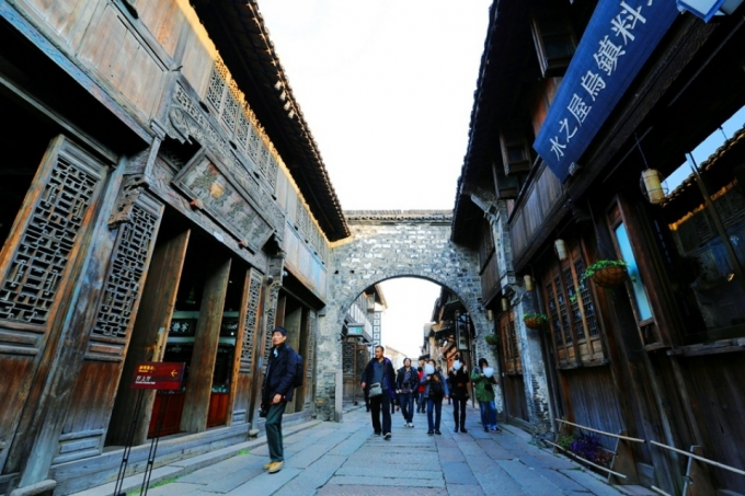 Hi,China Wuzhen , a fantasy banner