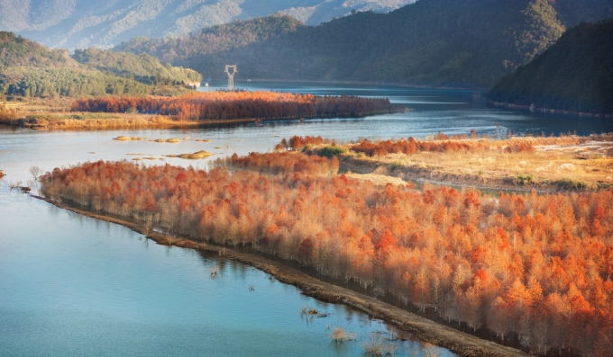Hi,China Autumn in Anhui Province banner