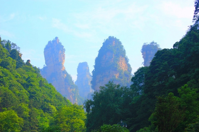 Zhangjiajie trip and Haliluyah mount
