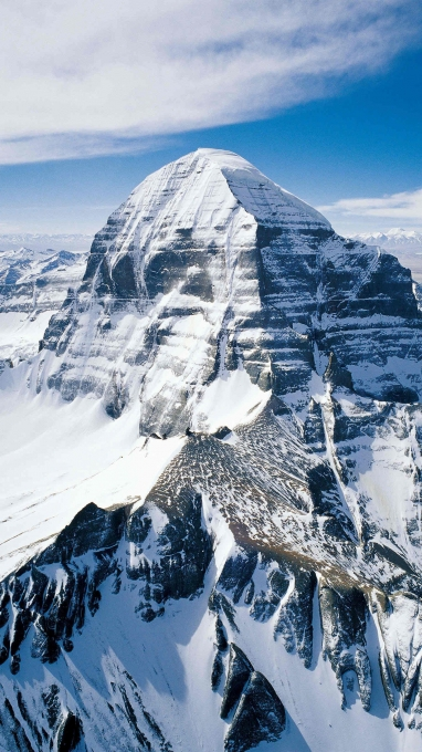 What happened in Mount Kailash?