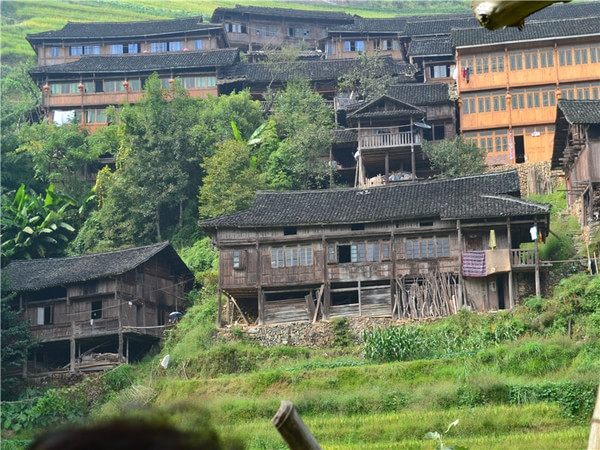 Guilin, Yangshuo, Longji terrance