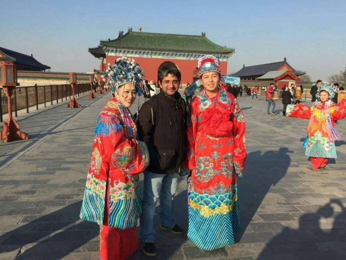 Trip in Bei Jing Temple of Heaven...........