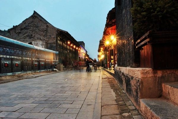 Pingyao ancient town in Shanxi