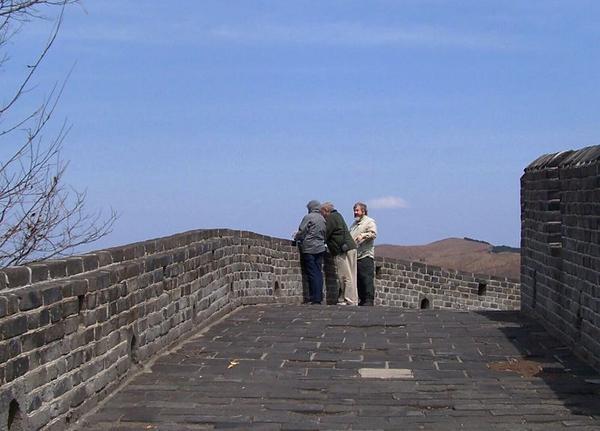 The Great Wall near North Korea