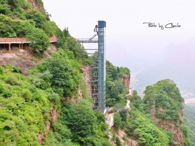 Cliff elevator