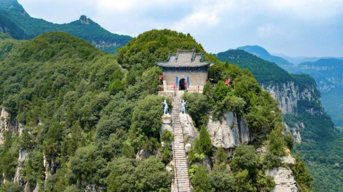 Shanxi Yunqiu Mountain Scenic Area