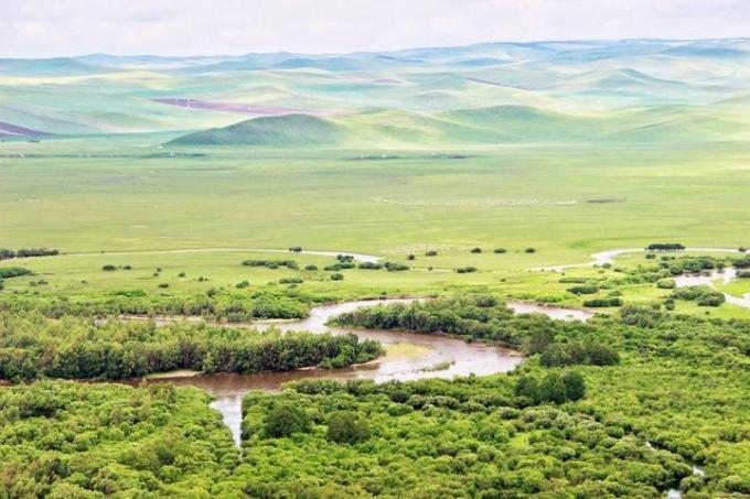 Erguna Wetland in Inner Mongolia