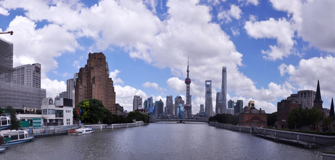 Dazzles of a wonderful new city, Shanghai