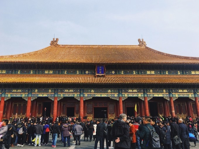 My March trip in the Forbidden City
