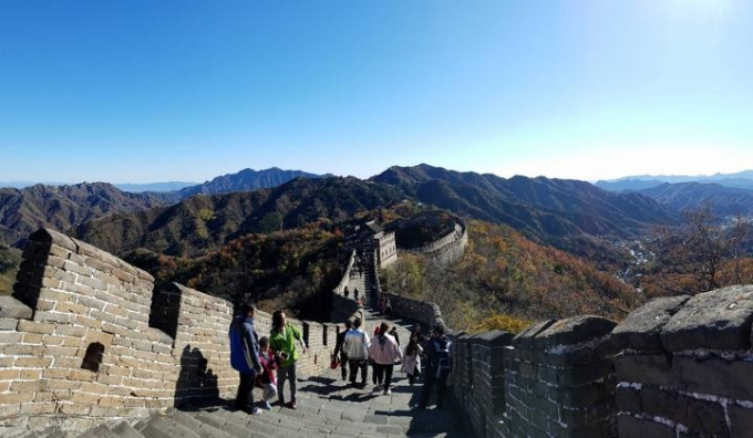 Mutianyu Great Wall From Beijing Dongzhimen Metro Station