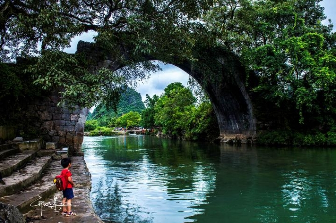 Guilin trip with child