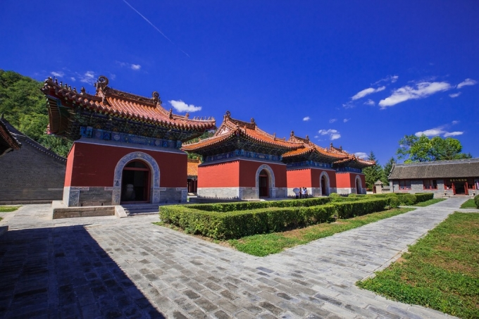 Qing Royal Mausoleum in liaoning province