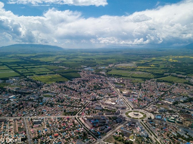 Turks City of Xinjiang