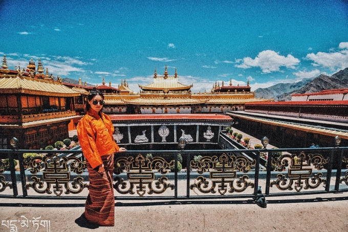 Photos when we visited Jokhang temple