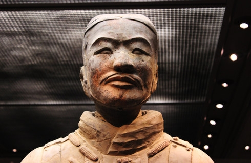 Inside the Terracotta Warriors and Horses Museum