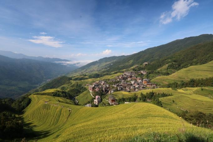 Ping'an and the Longji Rice Terraces at Longsheng